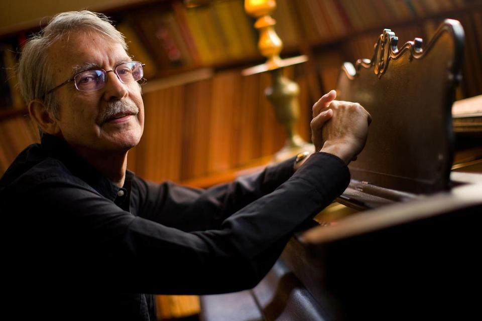 "Radius performed ""Nine Rasas"" by John Harbison (pictured in 2009)."