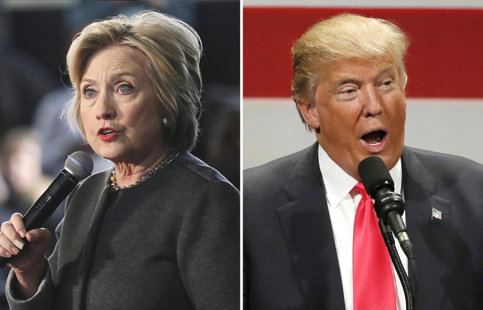 clinton trump matchup is a zombie apocalypse the boston globe