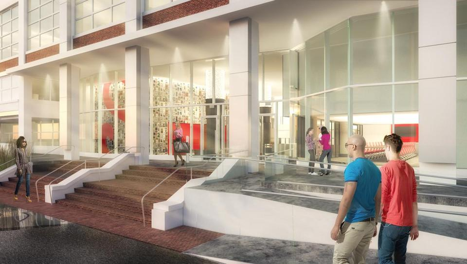15workplace- Renderings of SchrafftÕs new lobby. (CBT Architects)