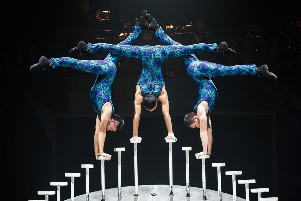 "The Big Apple Circus: ""The Grand Tour"" at City Hall Plaza."