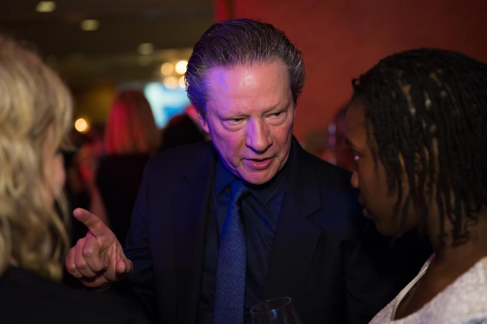 Chris Cooper at Commonwealth Shakespeare Company gala.