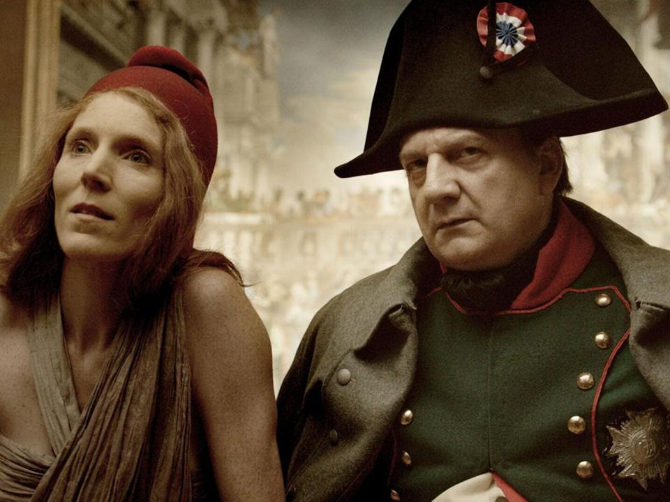 "Johanna Korthals Altes and Vincent Nemeth in ""Francofonia."""