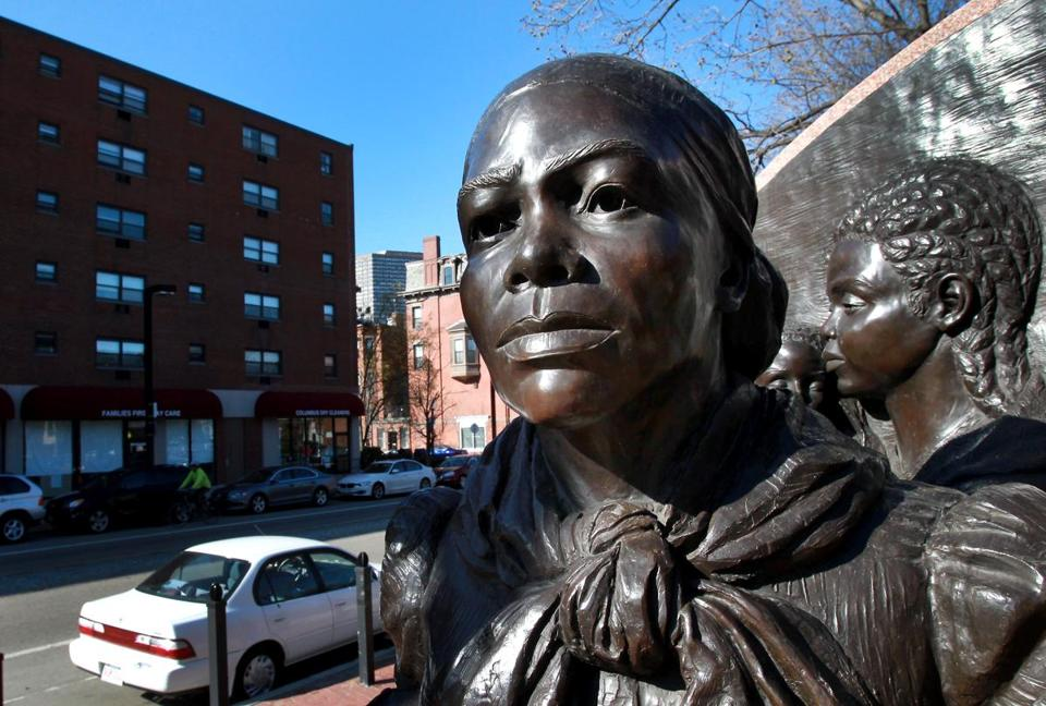 Harriet Tubman Park in the South End honors the runaway slave who helped free others.