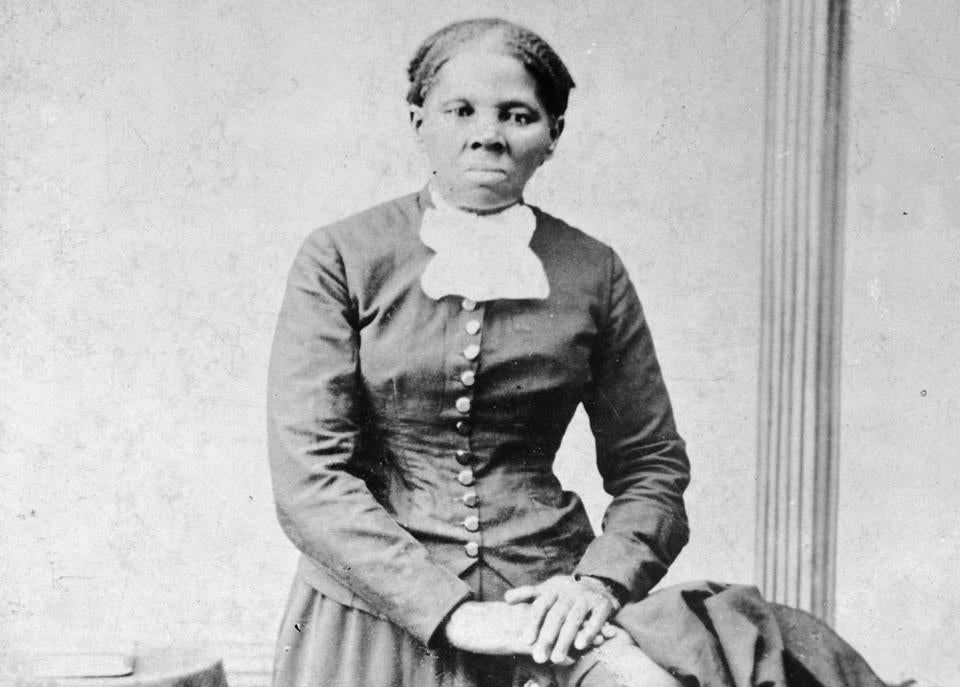 This image provided by the Library of Congress shows Harriet Tubman, between 1860 and 1875. A Treasury official said Wednesday, April 20, 2016, that Secretary Jacob Lew has decided to put Tubman on the $20 bill, making her the first woman on U.S. paper currency in 100 years. (H.B. Lindsley/Library of Congress via AP) MANDATORY CREDIT