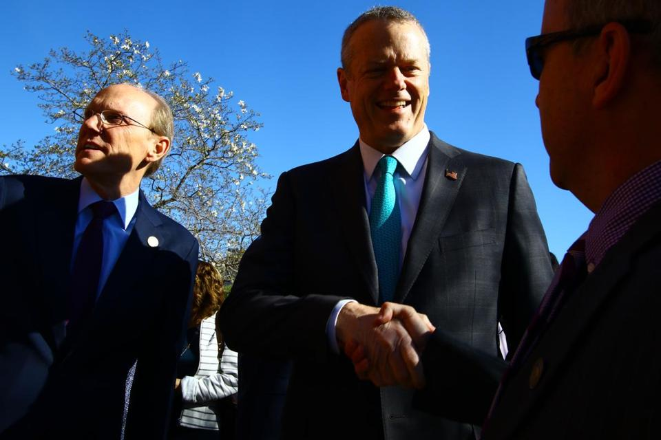 Governor Charlie Baker's operation would allow donors to gain direct access to him.