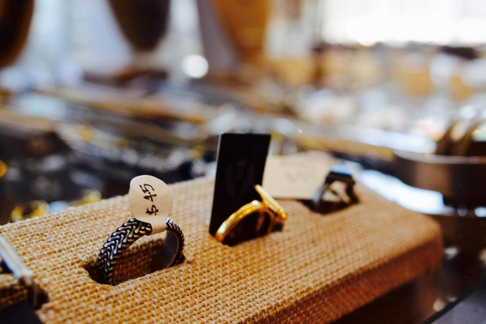 Jewelry at Good Neighbour in the Leslieville.