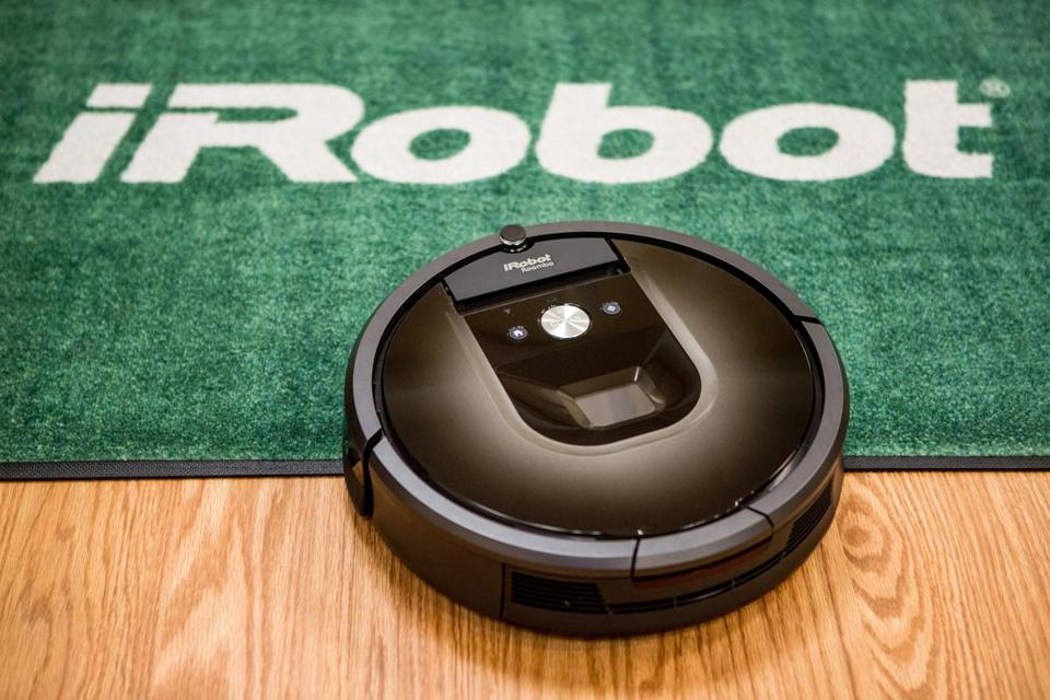 Bedford-based iRobot is perhaps best known for its Roomba vacuum cleaners.