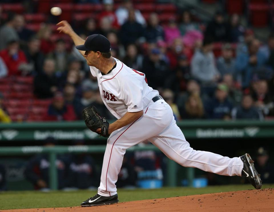 Steven Wright (1.52 ERA) has been a master of the mesmerizing knuckleball this season.