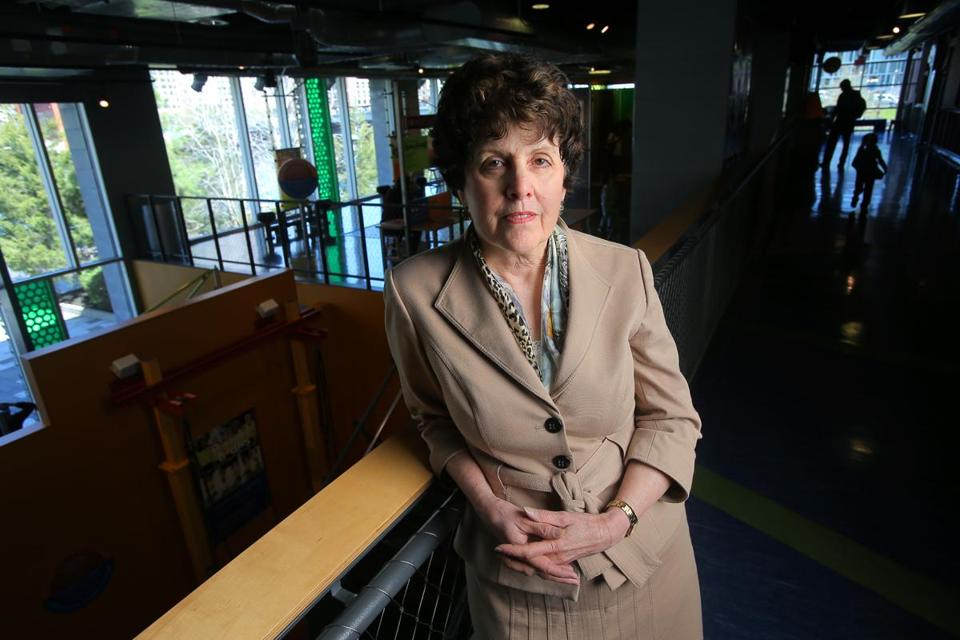 "Carole Charnow, president and CEO of the Boston Children's Museum, turned down funding from Houghton Mifflin Harcourt. ""I felt in the end that placing the consequences of this book in such close proximity to the Children's Museum . . . was not the right fit."""