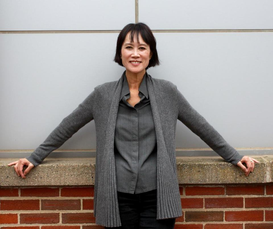 Tess Gerritsen, before an appearance at Salem State University.