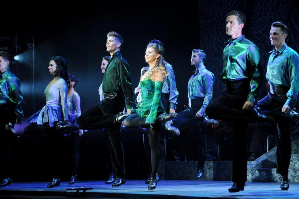 "The 20th-anniversary version of ""Riverdance"" continues to dazzle audiences."