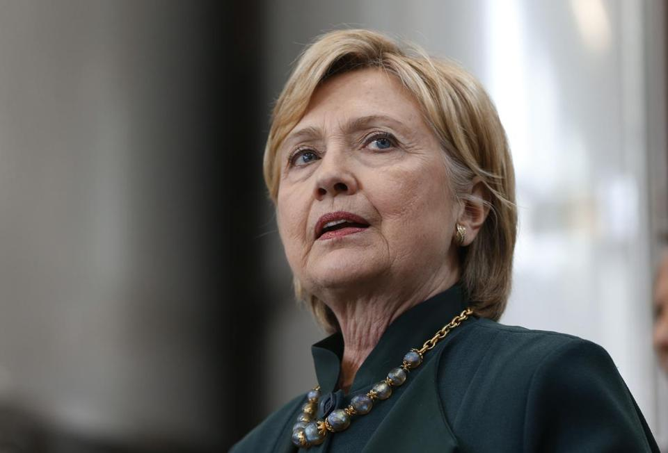 Democratic presidential candidate Hillary Clinton campaigned Tuesday in Athens, Ohio. The loss in Indiana could be the start of a rough stretch for the party's front-runner.