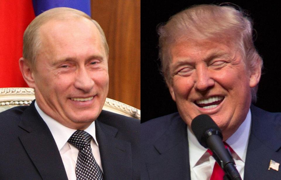 Image result for VLADIMIR PUTIN and donald trump