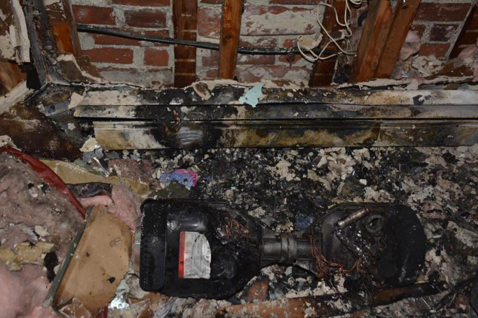 Authorities believe a hoverboard is to blame for a fire that damaged a residential building in the North End on Sunday.