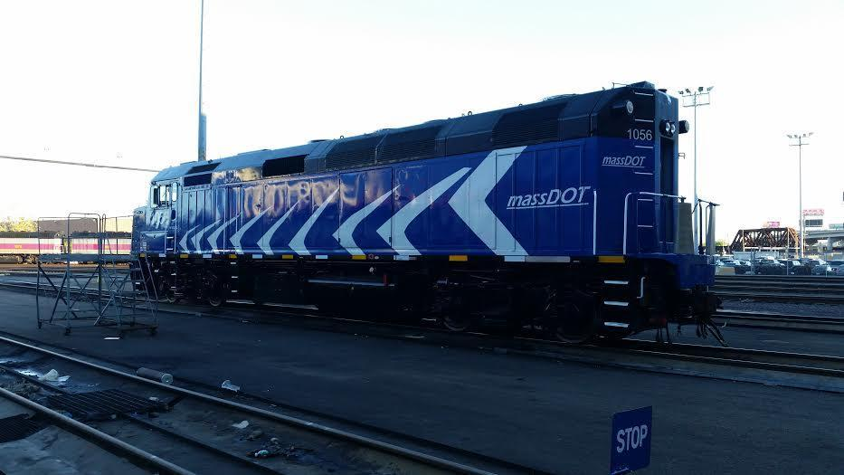 "The ""newest"" member of the commuter rail fleet."