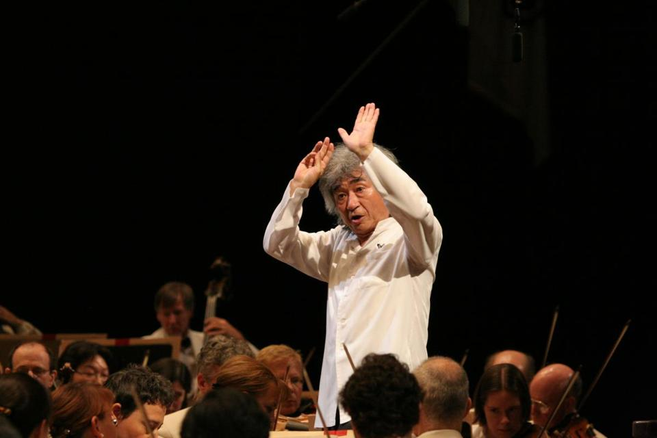 Seiji Ozawa is one of the conductors returning to Tanglewood this summer.