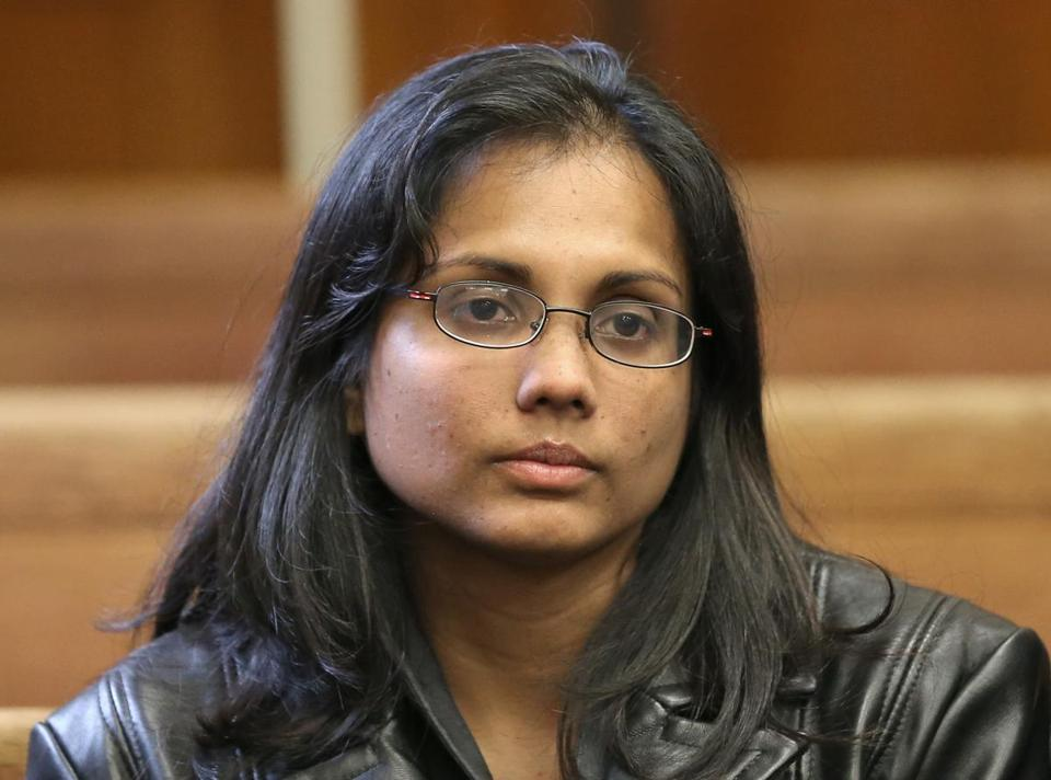 Former state chemist Annie Dookhan, convicted of tampering with evidence, was released from prison in April.