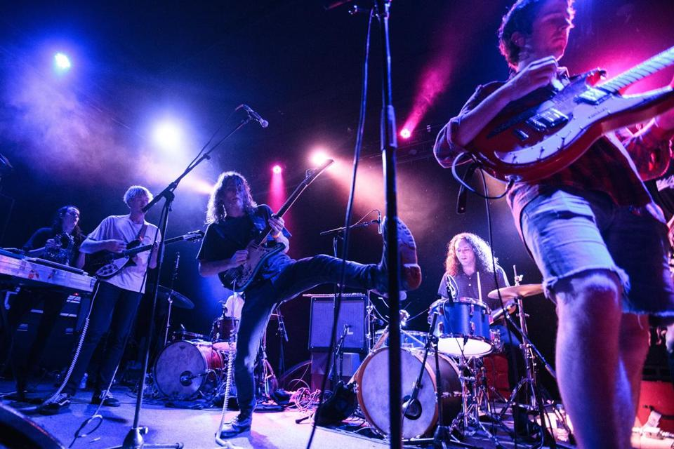 Cambridge, MA - 05/13/2016 - King Gizzard & The Lizard Wizard perform at The Sinclair on Friday night. (Ben Stas for The Boston Globe)