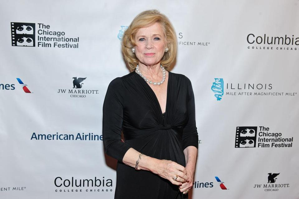 "Actress-director Liv Ullmann, pictured at the Chicago premiere of ""Miss Julie"" in 2014."