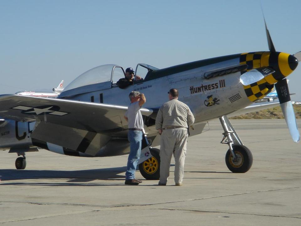 A P-51D Mustang fighter. Price tag: $1.4 million.