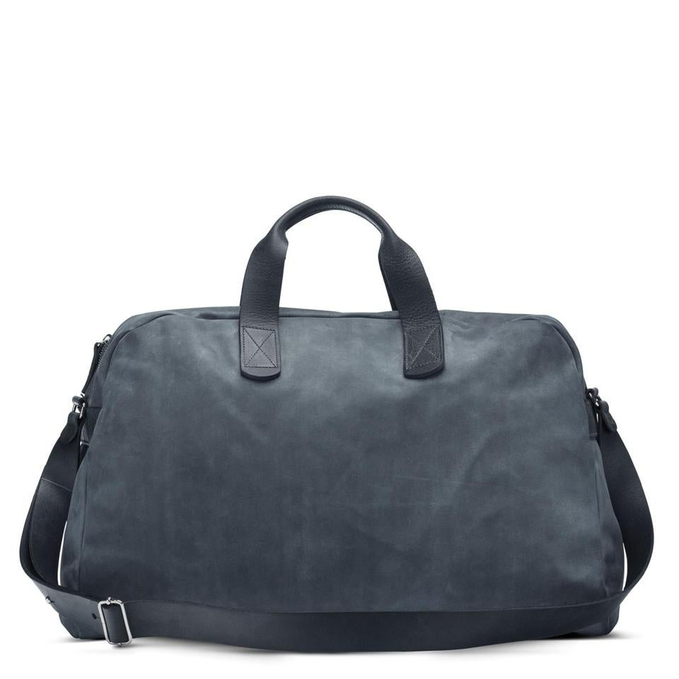 """LU 11 48 HR"" leather duffel"