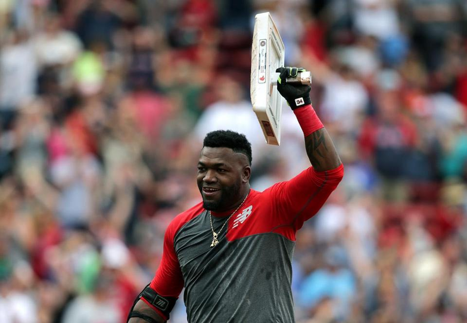 Red Sox DH David Ortiz often wears jewelry that stands out.