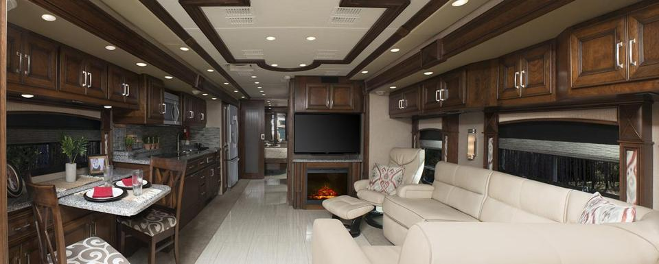 Some motorhomes are as comfortable and spacious