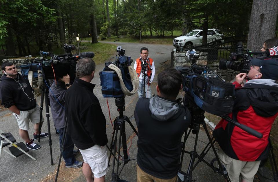 Man killed in lynnfield shooting the boston globe