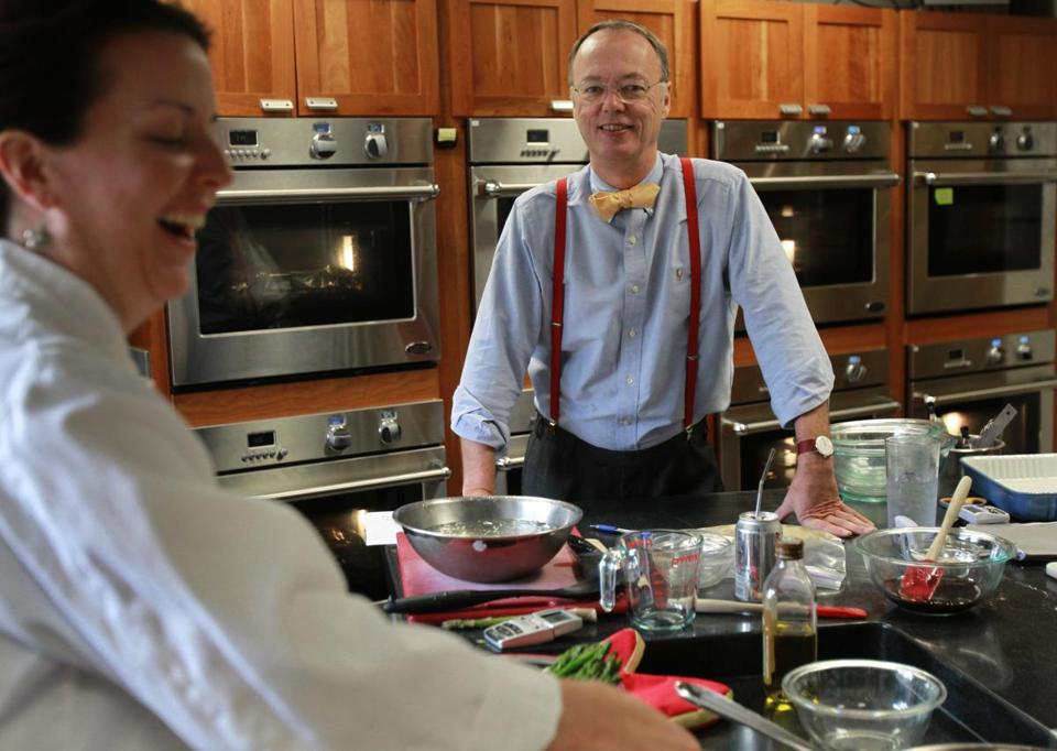 Celebrity chef Christopher Kimball in 2010.