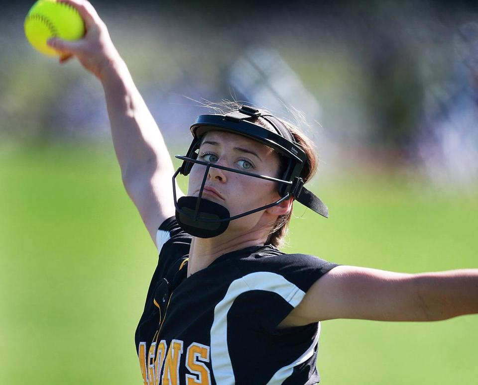 Olivia McGrath propelled Latin Academy with a two-hit, 11-strikeout performance