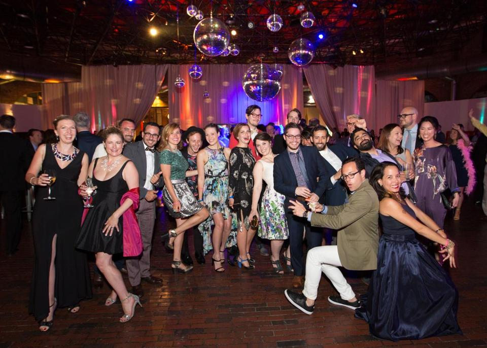 boston entertainment center bca hosts inaugural ball and disco under the dome party the