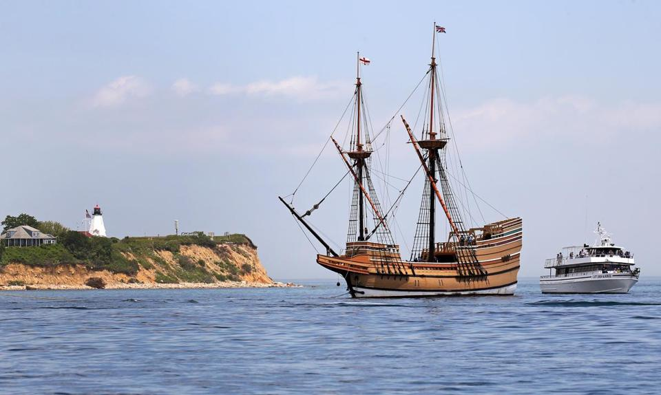 Extended absence looms for mayflower ii the boston globe for Mayflower car shipping