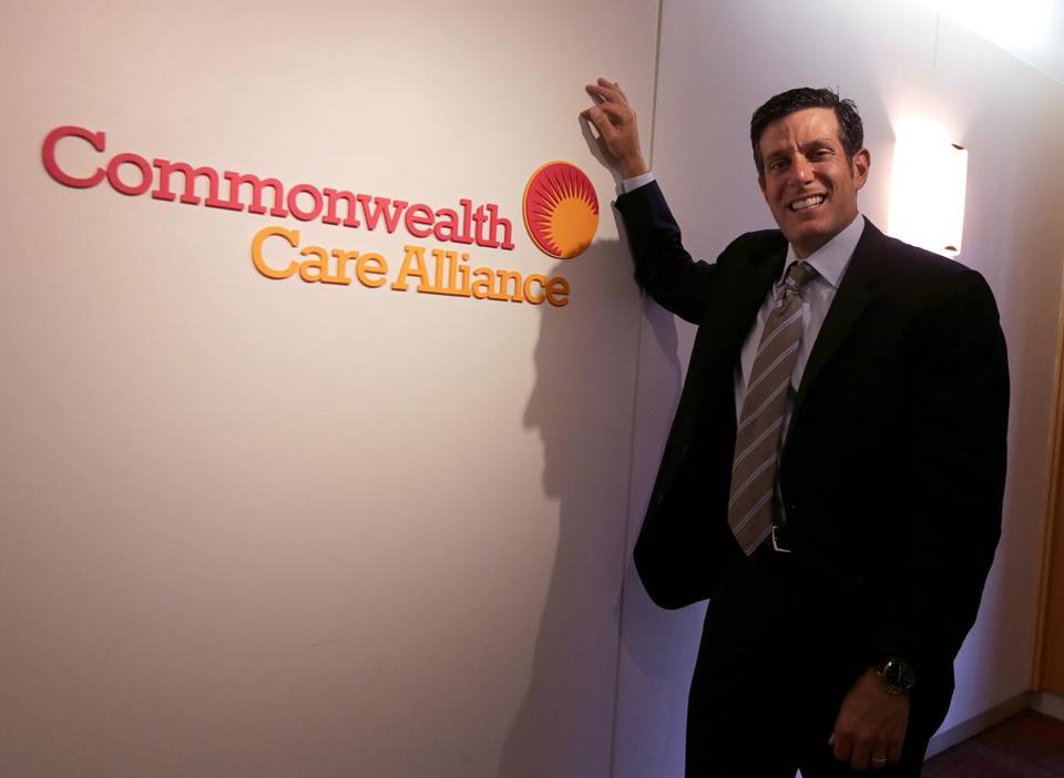 Boston, MA - 6/07/2016 - Five Things business feature on Christopher D. Palmieri, CEO of Commonwealth Care Alliance. - (Barry Chin/Globe Staff), Section: Business, Reporter: Priyanka McCluskey, Topic: 12fivethings, LOID: 8.2.3227361051.