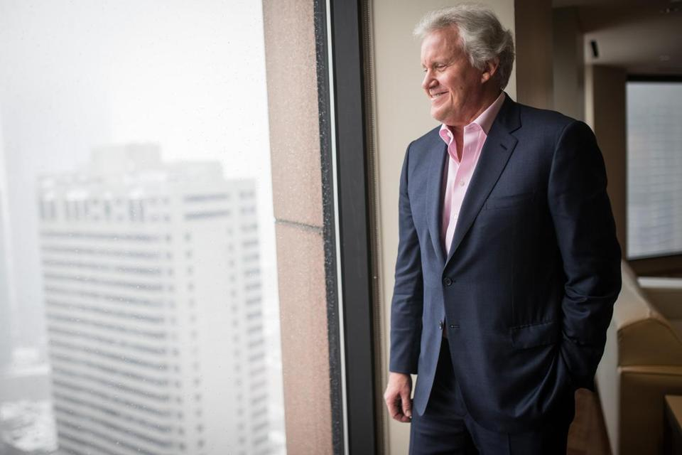 CEO Jeffrey Immelt is leading GE's transition away from the industrial.