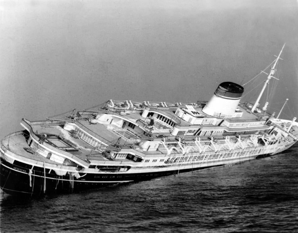 What Did A Submarine Find At The Wreck Of The Andrea Doria The