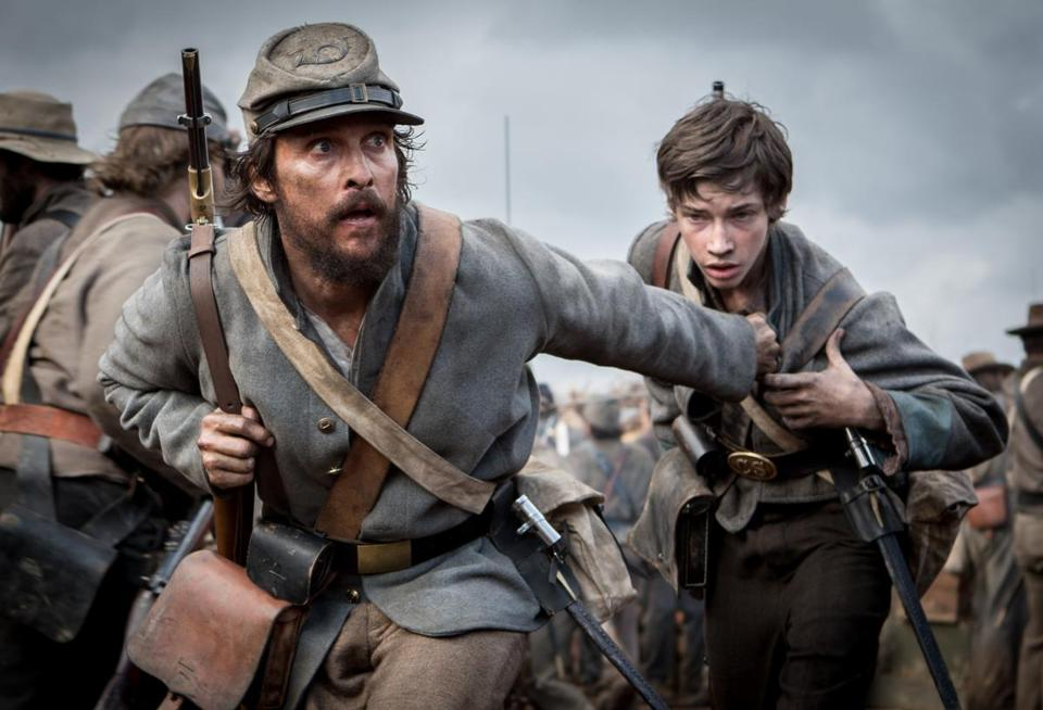 "Matthew McConaughey stars in the Civil War film ""Free State of Jones,"" directed by Gary Ross."