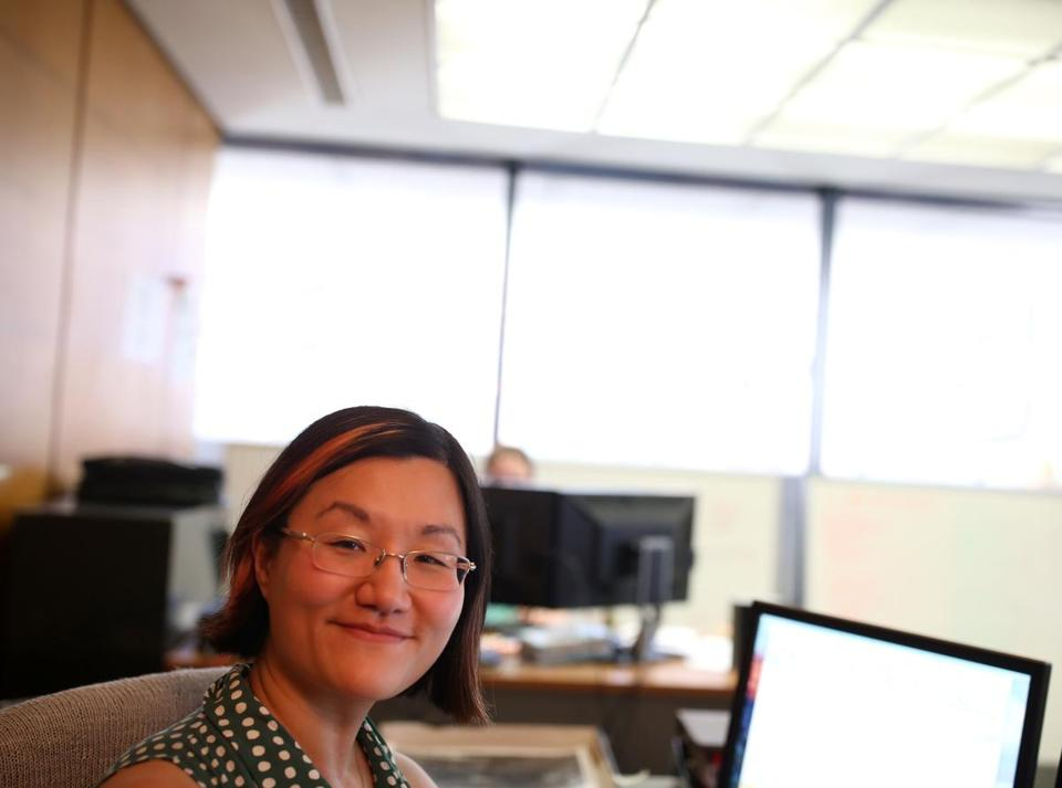 Monica Shin has been working to digitize and catalog thousands of items for Digital Commonwealth, a public online repository being built by the Boston Public Library.