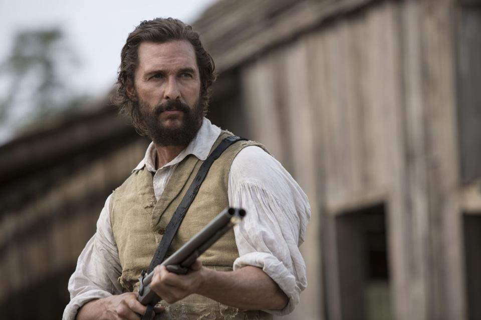 "Matthew McConaughey stars in the Civil War-era film ""The Free State of Jones."""