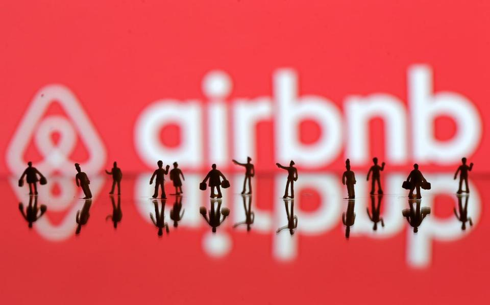 The hotel industry says upstart home-rental service Airbnb relies on a small group of semi-professional landlords for about half of its revenue in the Boston area.