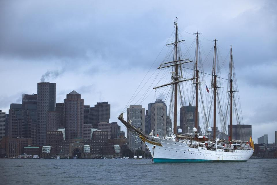 Next Years Tall Ships Visit To Be Bostons Biggest Since - Boston tall ship cruise