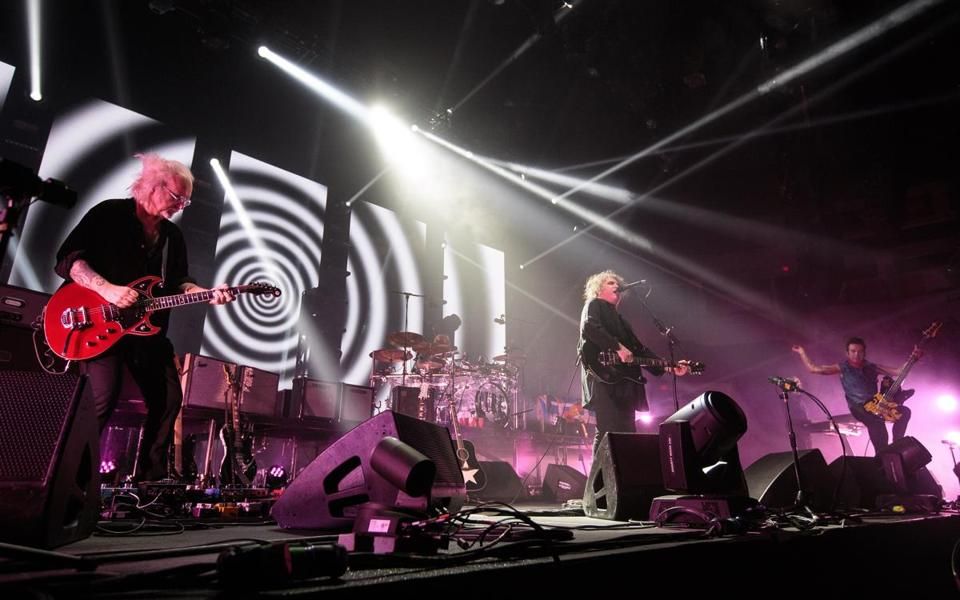 The Cure performed at Agganis Arena on Thursday night.