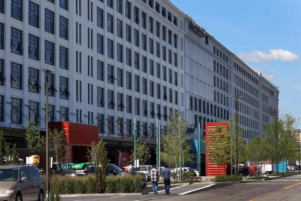 Flextronics International Ltd. said it will open a 17,000-square-foot innovation center in this former military storehouse in the Seaport, now called the Innovation and Design Building.