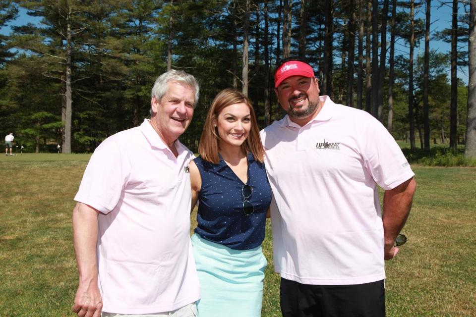 From left: Lenny Clarke, Jackie Bruno, and Joe Andruzzi.