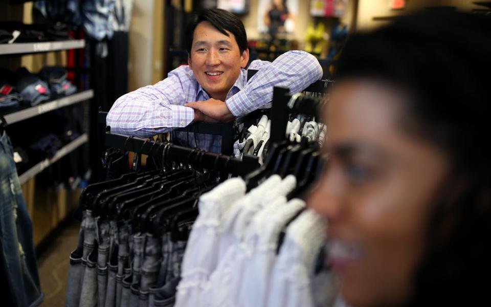Rhee has been known to engage shoppers in heart-felt chats.