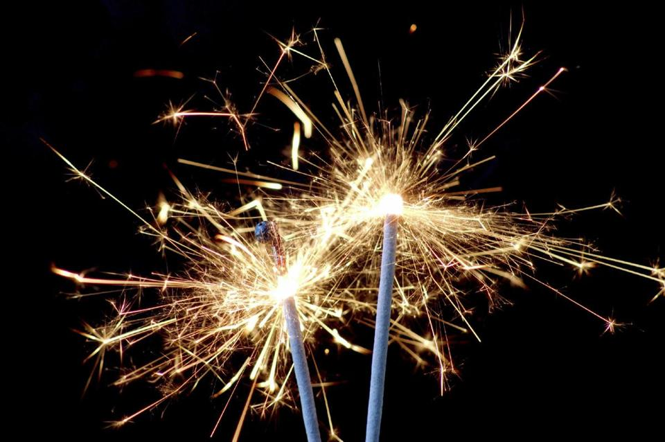the relatively tame sparkler is the most common source of fireworks related injuries
