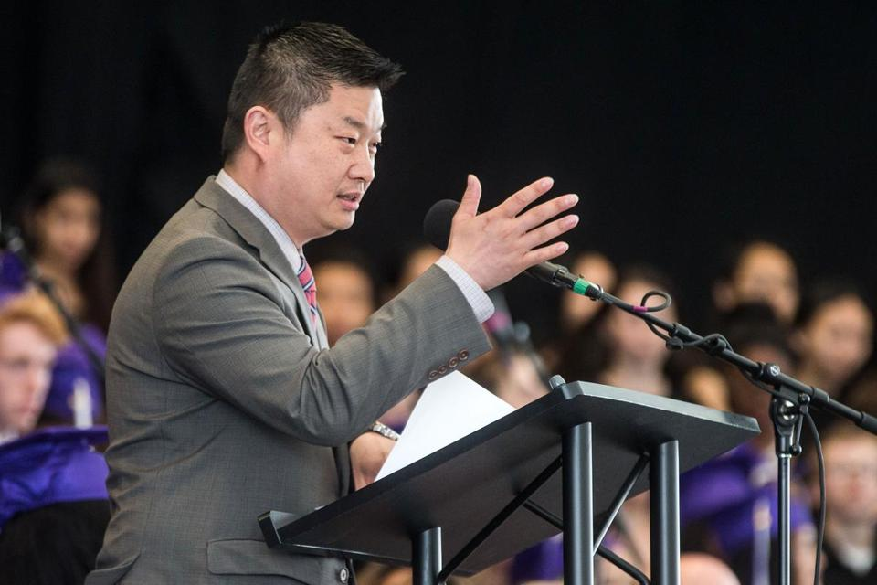 Superintendent Tommy Chang (above) says the group is looking into revising admission policies at Boston Latin School, Latin Academy, and the O'Bryant School of Math and Science.