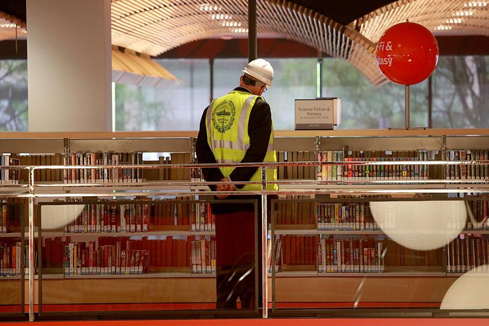 The newly renovated Boston Public Library opens to the public Saturday.