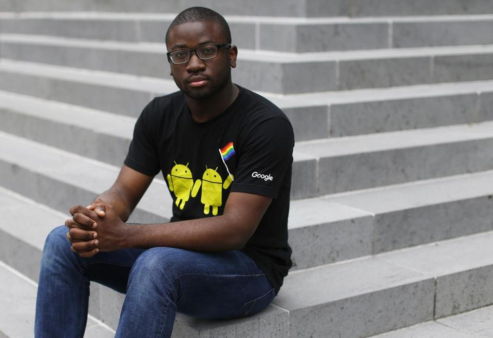 Vincent Anioke wrote on the MIT website about his struggles as a black man.