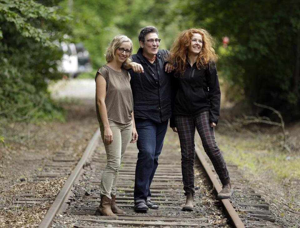 From left: Laura Veirs, k.d. lang, and Neko Case will perform together at the Newport Folk Festival.
