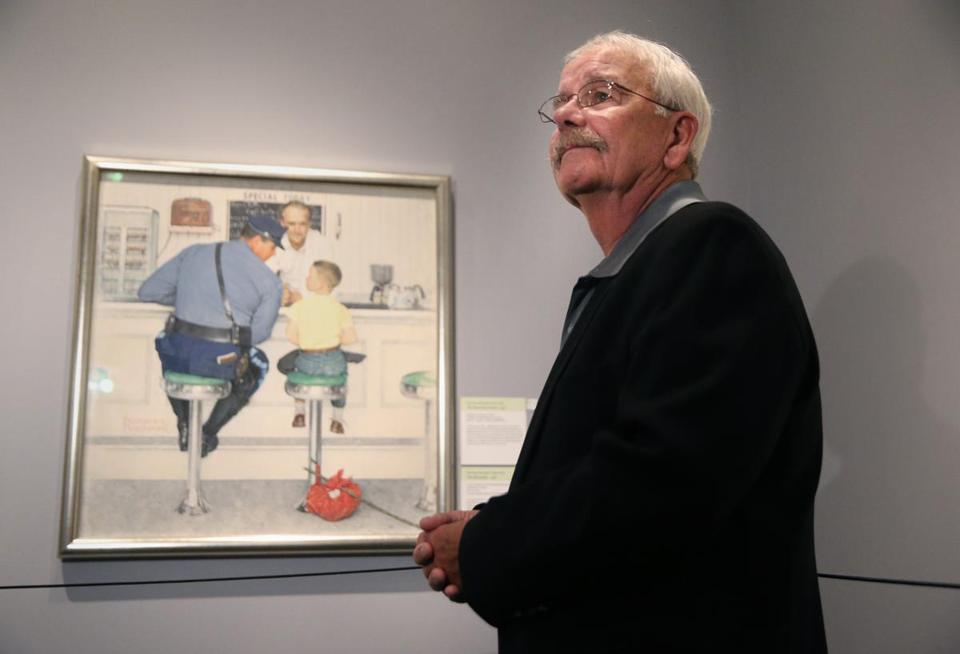 People Behind Famed Norman Rockwell Illustrations Reunite